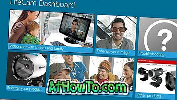Microsoft udgiver LifeCam Metro App til Windows 8