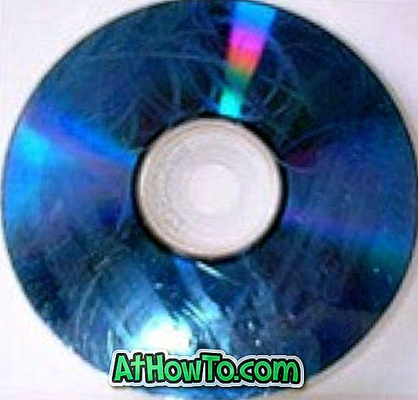Kuidas: andmete taastamine kriimustatud / loetamatutest CD / DVD-dest
