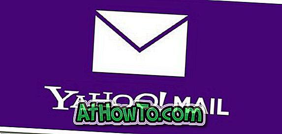 So melden Sie sich in Yahoo!  Mail Windows 8 App