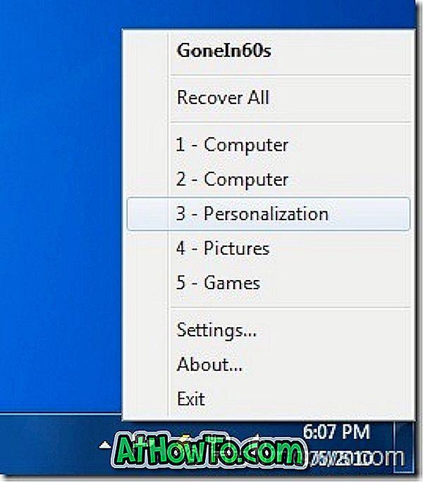 Jak ponownie otworzyć przypadkowo zamknięte okna w systemie Windows 7
