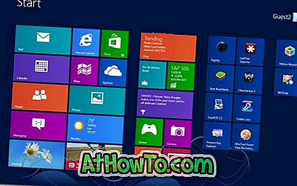 Tweaker Animasi Layar Mulai Windows 8