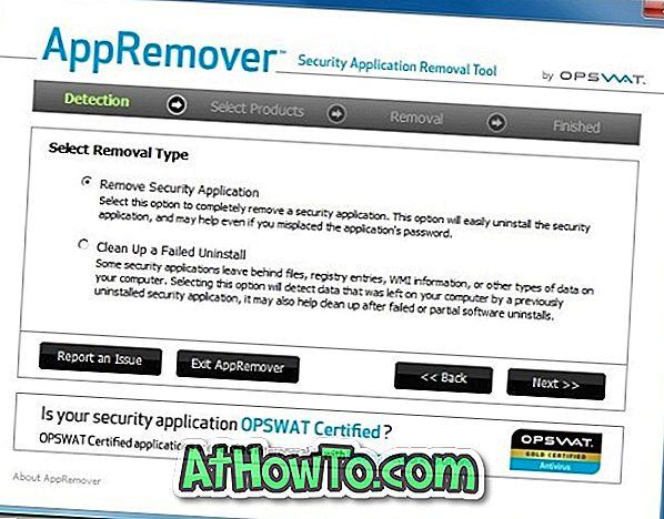 Az AppRemover segíti Önt az Antivirus és az Internet Security szoftver alapos eltávolításában