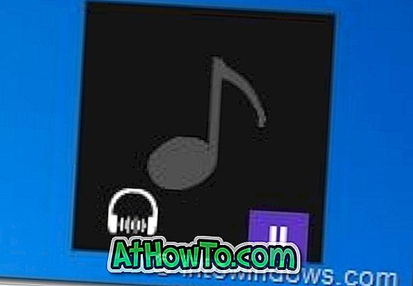Windows 8 Beta Metro στυλ μουσικής παίκτης δέρμα για CD Art Display