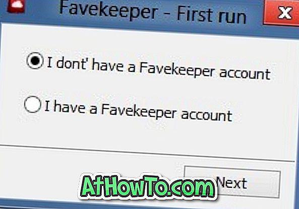 Favekeeper: कई कंप्यूटरों और ब्राउज़रों के बीच सिंक बुकमार्क