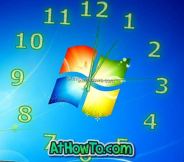TheAeroClock: labai pritaikomas skaidrus darbalaukio laikrodis