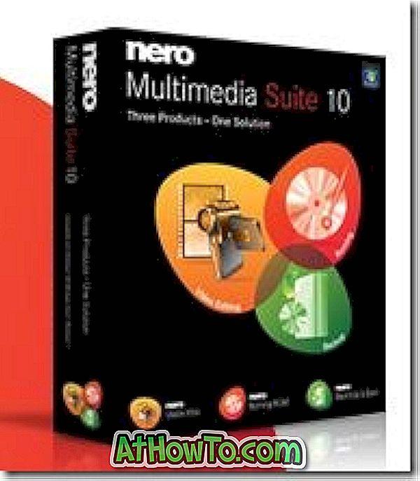 Напълно деинсталирате Nero 10 с инструмента за общи чисти