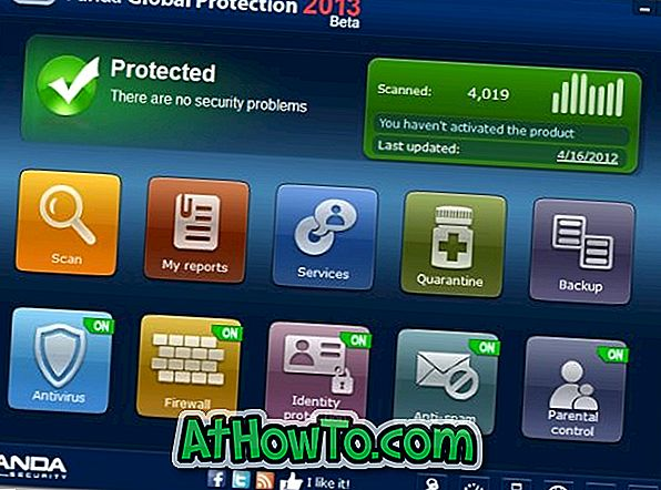Laden Sie Panda Global Protection 2013 Beta jetzt herunter