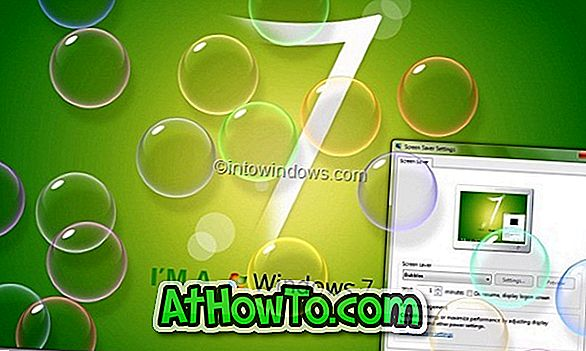 Personalizar o Vista e Windows 7 Screen Savers com tempo ocioso