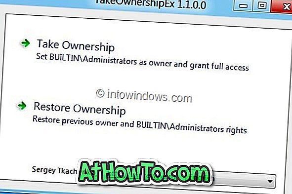 TakeOwnershipEx: Kostenloses Tool zur Übernahme von Windows-Dateien