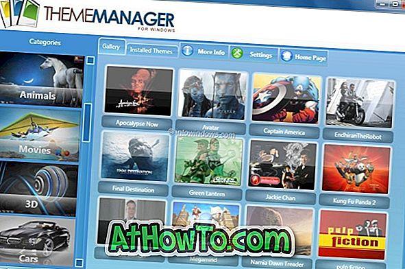 Theme Manager: Durchsuchen und installieren Sie 100+ Windows 7-Designs