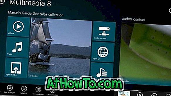 Multimedia 8: Bester Multimedia-Player für Windows 8