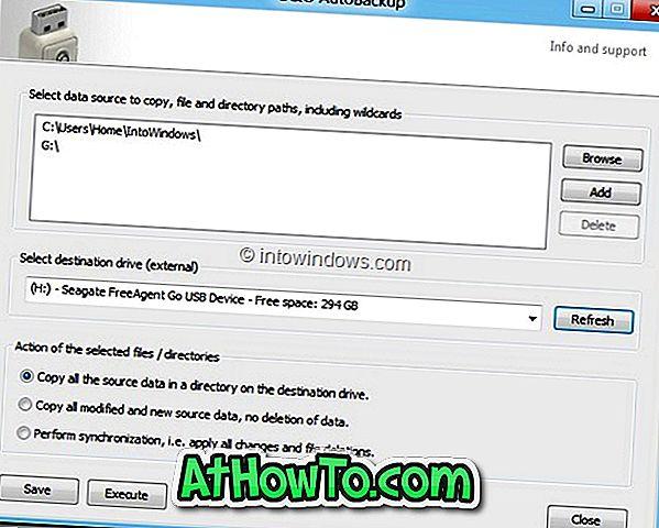 O&O AutoBackup:ファイルやフォルダをUSBドライブに自動的にバックアップ