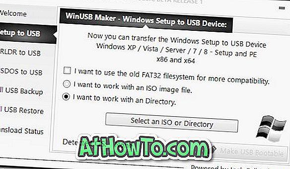 WinUSB Maker: Utilitário para criar, fazer backup e restaurar USB inicializável