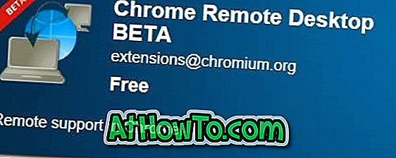 Remote Desktop App für Google Chrome