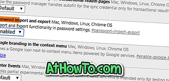 Как да архивирате записаните пароли в браузъра Google Chrome