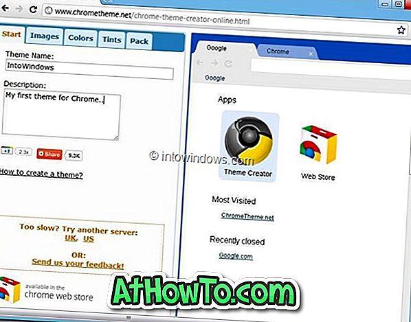 Cara Membuat Google Chrome Theme Online - google chrome