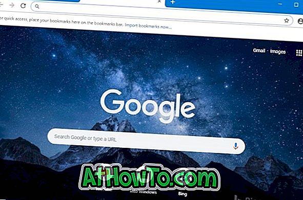 كيفية تعيين صورة باسم جوجل كروم صفحة علامة تبويب خلفية جديدة