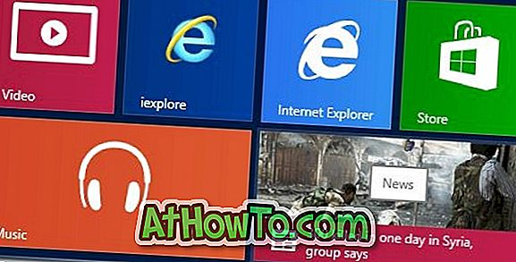 Come bloccare Internet Explorer per avviare la schermata in Windows 8