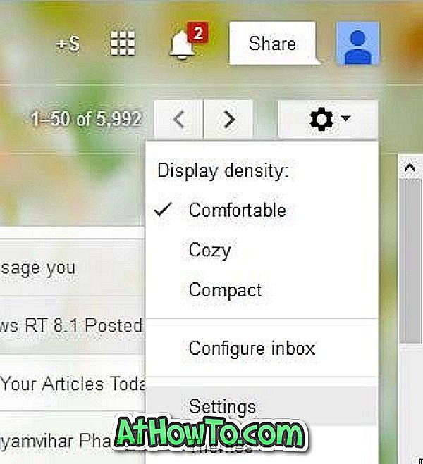 """Kaip sustabdyti """"Gmail"""" automatiškai įkeliant vaizdus į el. Laiškus"""