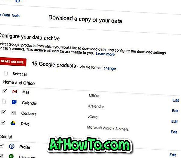 So sichern Sie Google Mail-E-Mails ohne Verwendung von Drittanbieter-Software auf dem Computer