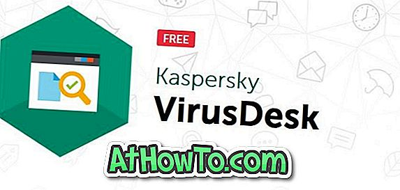 Kaspersky VirusDesk: Skaneeri failid võrgus Kaspersky abil