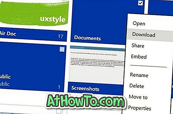 So laden Sie Dokumente und Bilder von Microsoft OneDrive herunter