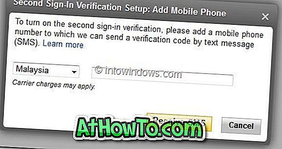 Cum să activați verificarea secundară pentru Yahoo!  Cont