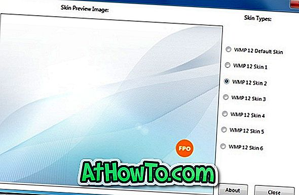 Cambia immagine Image Changer di Windows Media Player 12 Library