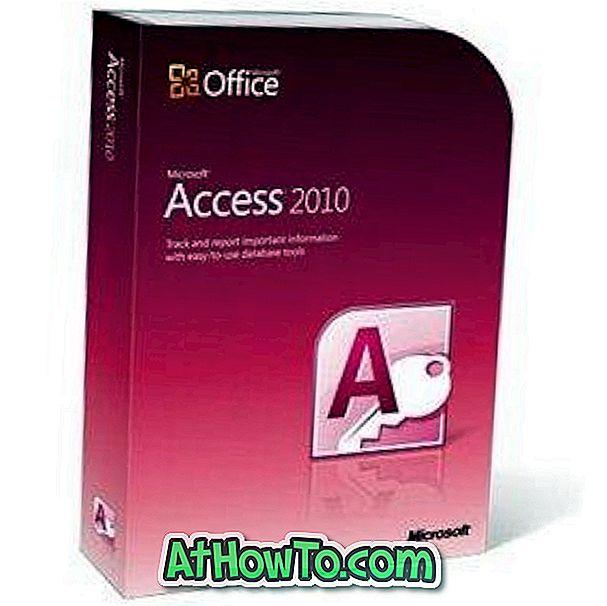 Lejupielāde Darba sākšana, izmantojot Microsoft Access 2010 rokasgrāmatas