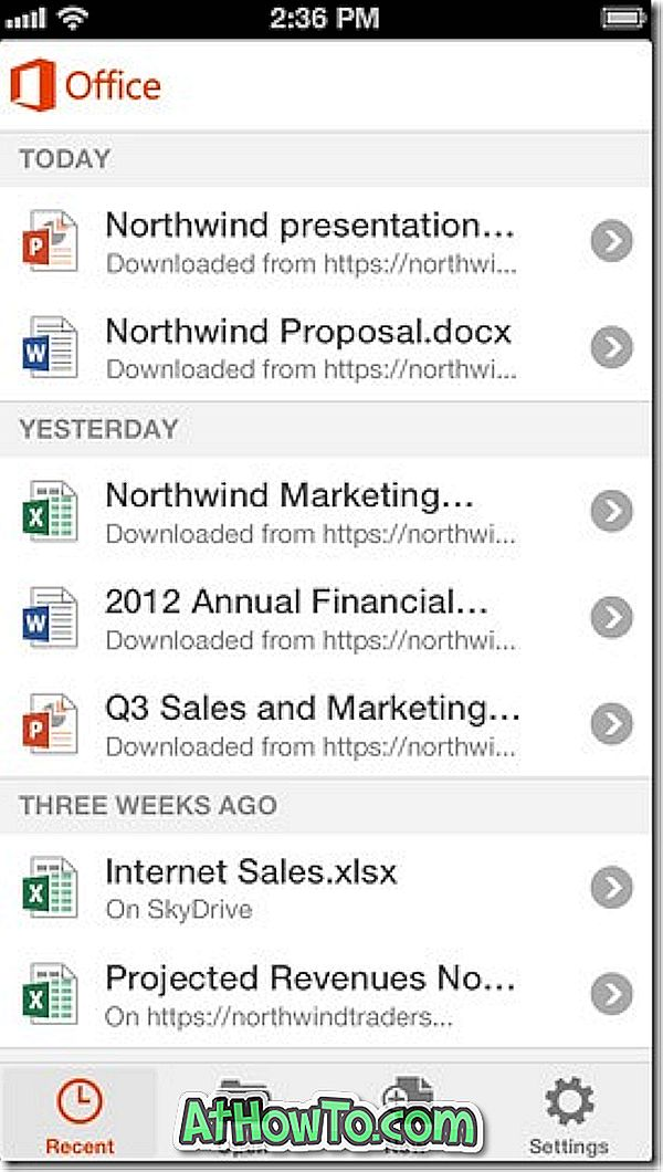 Last ned Microsoft Office for iPhone