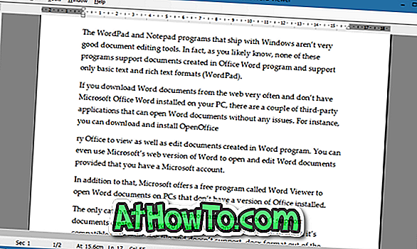 Visionneuse Microsoft Word: Ouvrir et afficher des documents Word sans installer Office