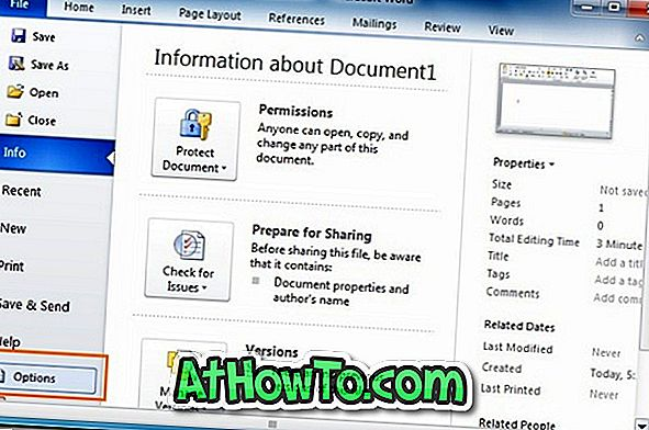 """Kaip importuoti arba eksportuoti juostelę ir greitosios prieigos įrankių juostos pritaikymus """"Office 2010"""""""