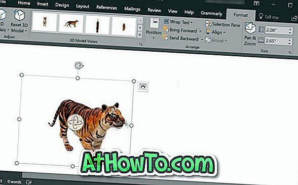 Jak vložit 3D modely do dokumentů aplikace Word a PowerPoint