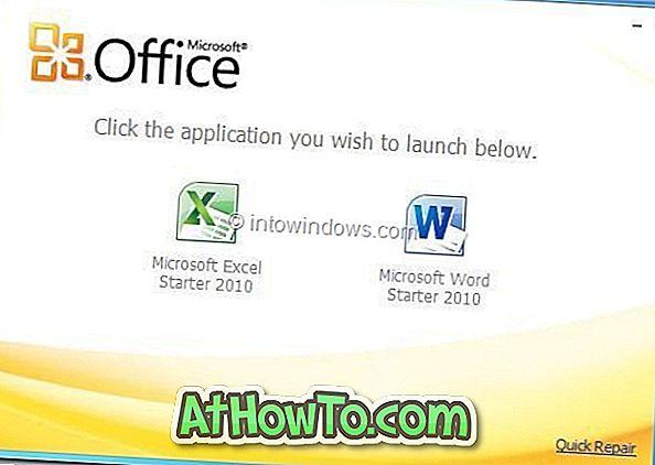 Cum să recuperați cheia de produs Office 2010