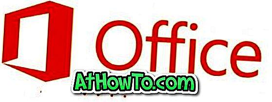 Hoe Office 2013 klantvoorbeeld te verwijderen