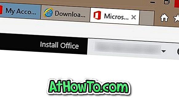 Изтеглете Office 2013 от Microsoft чрез продуктовия ключ