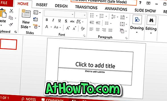 So öffnen Sie Microsoft Office 2013/2016 im abgesicherten Modus