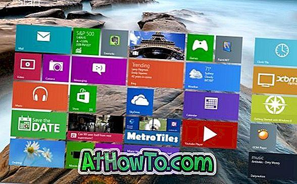 Decor8: Hintergrund & Farbe für Startbildschirm ändern