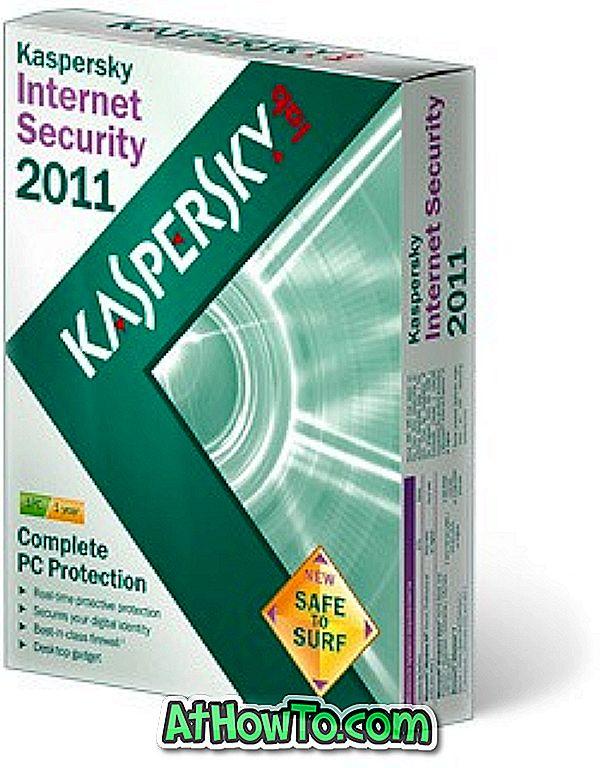 कैसे कुंजी फ़ाइल के साथ Kaspersky इंटरनेट सुरक्षा ऑफ़लाइन सक्रिय करने के लिए