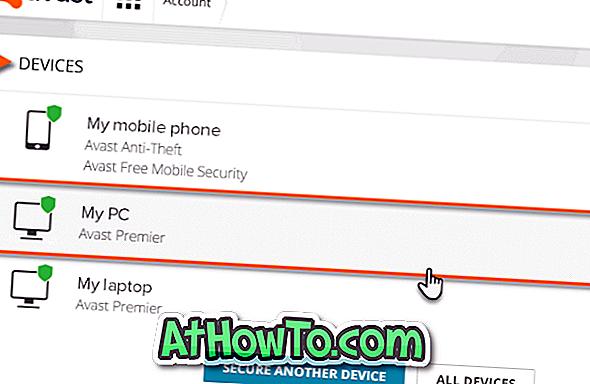 Så här överför du Avast-licens till ny / annan dator - programvara