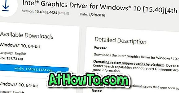 Изтеглете Intel HD Graphics Driver за Windows 10/8