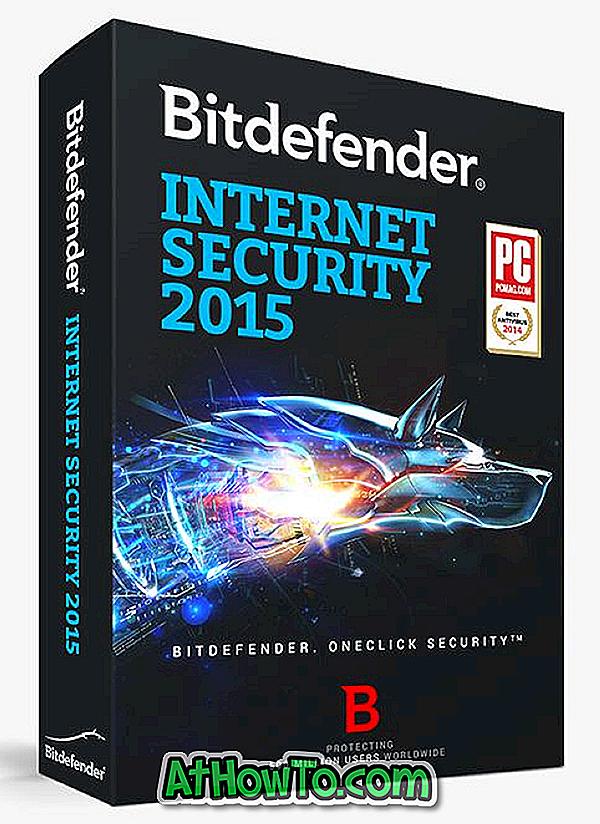 Holen Sie sich Bitdefender Internet Security 2015 mit einer sechsmonatigen Lizenz kostenlos