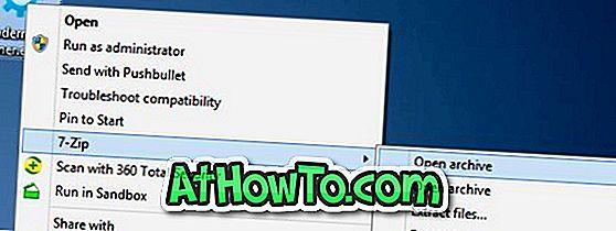 Как да премахнете 7-Zip от контекстното меню