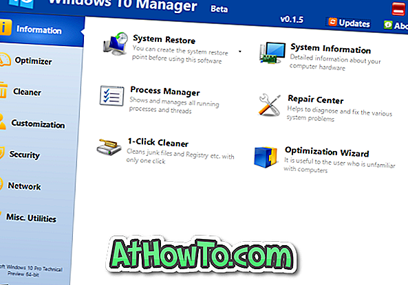 Windows 10 Manager: Ein Tool zur Optimierung und Optimierung von Windows 10