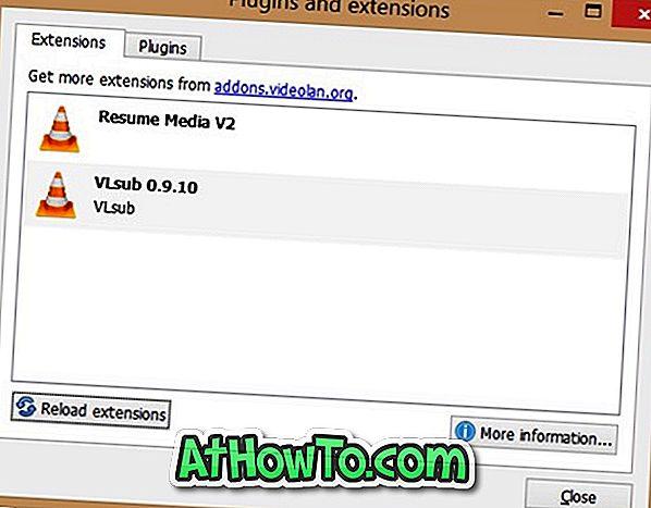 विंडोज में VLC एक्सटेंशन कैसे स्थापित करें