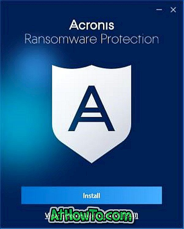 Laden Sie Acronis Ransomware Protection Free für Windows 10 herunter
