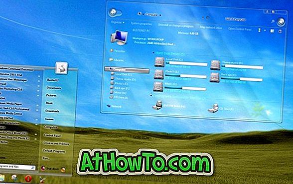 Scarica Aero Glass (Transparent) Theme per Windows 7