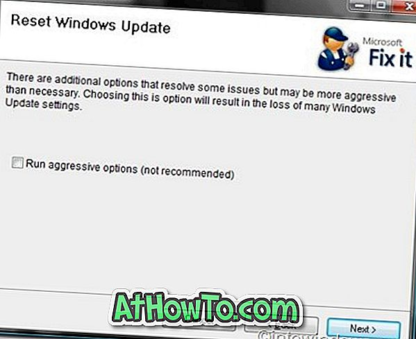 Fix Windows Update Error automatisk med Fix It Tool