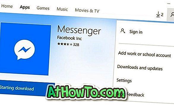 Installieren Sie Apps aus dem Windows 10-Store ohne ein Microsoft-Konto