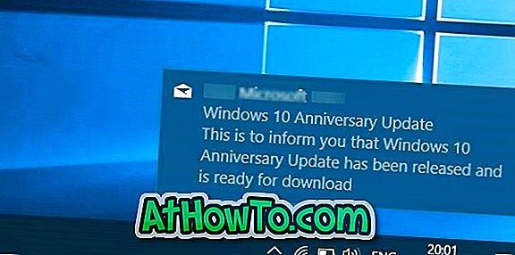 Włącz baner i dźwięk nowych powiadomień pocztowych w systemie Windows 10